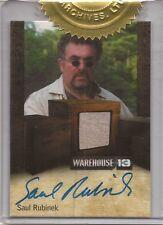 "Warehouse 13 Season 3 - Saul Rubinek ""Artie Nielsen"" Autograph Relic Card"