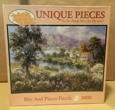 """Bits and Pieces """"Enchanted Cottage"""" by Nick Boehme, New, Sealed 3000 Piece"""