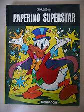PAPERINO SUPERSTAR WALT DISNEY MONDADORI 1976 1°ED. FUM4