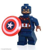 LEGO® Superheroes™ Marvel Captain America: Civil War Captain America Minifig