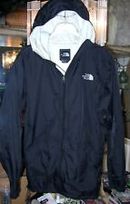 Great Condition! North Face Black Men's Rain wind Jacket Size Small NORTHFACE