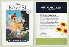 Disney Bambi Gloriosa Daisy Seeds Net Wt. 50mg Disney Movie Club Exclusive