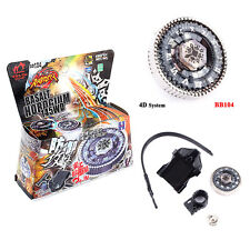 BEYBLADE Metal FUSION FIGHT MASTER 4D System BB104 Basalt Horogium With Launcher