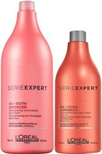LOREAL INFORCER B6+BIOTIN STRENGTHENING SHAMPOO 1.5 L AND CONDITIONER 750 ML FS