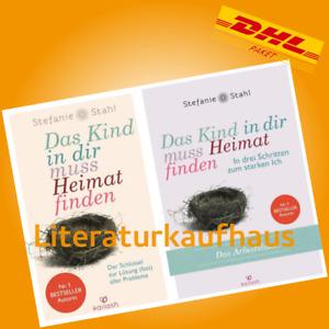 DAS KIND IN DIR MUSS HEIMAT FINDEN + ARBEITSBUCH   STEFANIE STAHL   Buch-Set