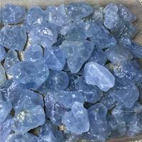 Rough Natural CELESTITE (Raw Sky Blue Crystal Gemstones 500 Carat)