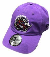 New Era Purple Toronto Raptors Hardwood Classics Nights Adjustable Slouch Hat
