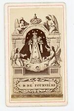 PHOTO CDV c.1870, Notre Dame de Fourvière