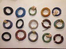 Kabel für Modelleisenbahn, verschiedene Farben, ansehen, Schnäppchen !!!