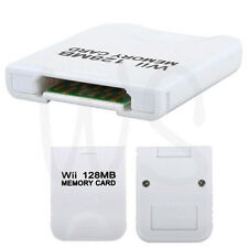 NEW 128 MB 128MB Memory Card for Nintendo Wii console GameCube(GC NGC) AU Fast
