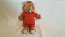 VINTAGE 1984-1985 TEDDY RUXPIN WOW WORLDS OF WONDER TALKING TEDDY BEAR/FOR PARTS