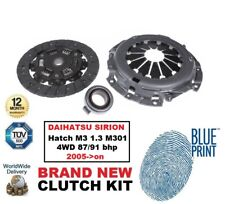 ADL CLUTCH KIT 3 PC for DAIHATSU SIRION Hatch M3 1.3 M301 4WD 87/91 bhp 2005->on
