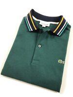 Lacoste Polo Shirt Men's Slim Fit Aconit Green Cotton Pique PH943100-E76