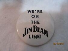 JIM BEAM WHISKY BUTTON/PIN