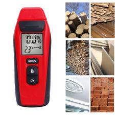 Digital Moisture Meter Damp Detector Timber Wood Tester Plaster Sensor