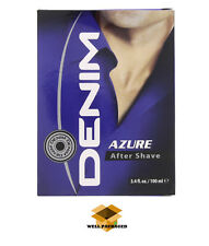 THE NEW DENIM AZURE - AFTERSHAVE FOR MEN 100ml * ORIGINAL & WELLPACKED