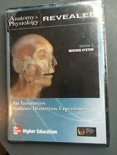 Mcgraw Hill /Anatomy & Physiology Revealed vol 2 Nervous System Pc/mac sealed