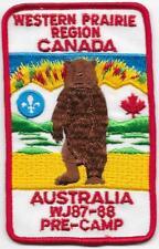 Canada Pre-Camp Contingent 1987-88 16th World Scout Jamboree Mondial Australia