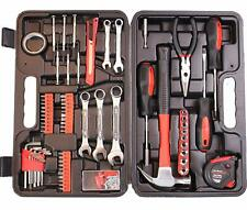 Tool Set 148 Pieces Hammer Screwdrivers Pliers Measuring Tape Wrench Diy Kit