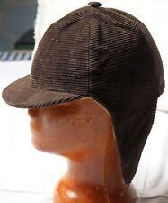 Kleidung & Accessoires Vintage-mode Vintage Kinder Ballonmütze Schirmmütze Mit Ohrenpatten Hahnentrittmuster Genäht