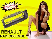 Radio Blende DIN Renault Megane Scenic schwarz DIN - NORM