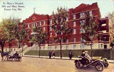 ST. MARY'S HOSPITAL 28th and Main Streets KANSAS CITY, MO 1911