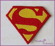 Ecusson patch thermocollant brodée FABRIQUE EN FRANCE  SUPERMAN
