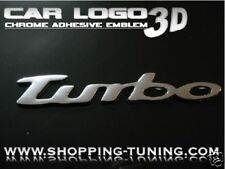 LOGO EMBLEM CHROME 3D TURBO SMART ROADSTER FORTWO