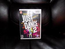 Just Dance 2 (Nintendo Wii, 2010) EUC FREE USA SHIPPING
