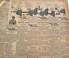SEPT. 2,1918  PG. #JD6027- TY COBB'S / LEONARD LEWIS 2 CHAMPIONS EXPECTED TO BOX