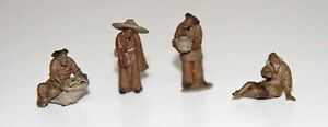 CHINESE MINIATURES. MUD. CHINA. END 19th CENTURY
