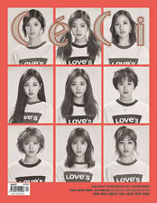 CECI TYPE A KOREA MAGAZINE 2017 APR APRIL TWICE CLIPPINGS PAGE NEW