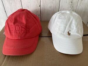 DESIGNER UNISEX RALPH LAUREN HUGO BOSS BABY SUN HAT BASEBALL CAP KIDS HOLIDAY