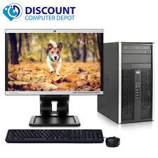 "HP 6000 Desktop Computer C2D 2.93GHz 4GB 250GB Windows 10 Pro 19"" LCD Key Mice"