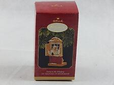 1997 Hallmark Away to the Window Keepsake Christmas Tree Ornament No Tag