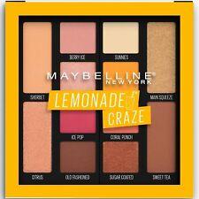 1 X Maybelline Lemonade Craze Eye Shadow Palette #100