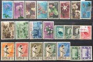 Regno Somalia indipendente selezione di valori nuovi e usati