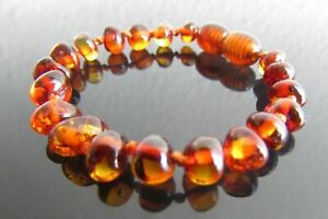 Genuine  Amber Bracelet/Anklet  various sizes 3 colours