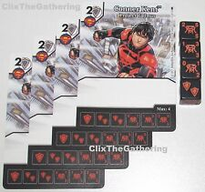 4x CONNER KENT: PROJECT CADMUS 11/124 Batman Dice Masters DC