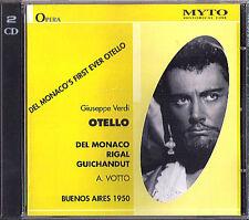 VERDI: OTELLO Mario Del Monaco Delia Rigal ANTONINO VOTTO Buenos Aires 1950 2CD