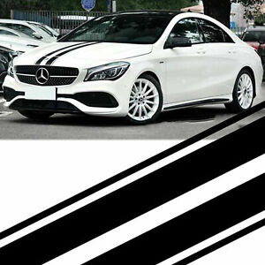 Hood, Roof, Trunk Graphic Racing Stripe Vinyl Decal Sticker For Mercedes Benz