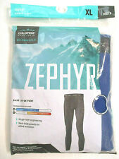 ColdPruf Men's Cobalt Blue Zephyr Base Layer Pant Thermal Underwear Size XL