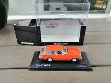 1/43 . VOLVO P1800 ES Break de 1971 MINICHAMPS  Orange as new In Box