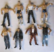 WWE Wrestling Figures Jakks Pacific 2000 2001 x8 Bundle Job Lot Hardcore Holly
