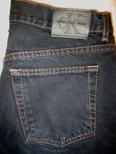 Calvin Klein Boot Cut Womens Jeans Black Denim Size 8 x 32 Mint