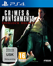 Sony PS4 Playstation 4 Spiel * Sherlock Holmes Crimes & Punishments *and*und*NEU