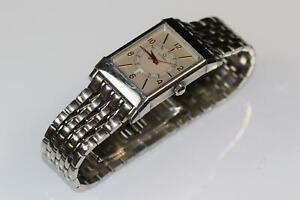 Damen Armbanduhr Stahlarmband Eterna Automatik Jubiläum 1935(CL720)