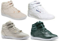 Reebok Womens Leather Trainers Reebok Freestyle Hi Top Trainers Boots