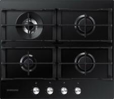 SAMSUNG NA64H3031AK- 60cm Black Glass Gas Kitchen Hob WOK Overlay