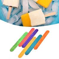 Palo de helado De madera de colores Palitos de helado Herramientas de pastel